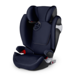 Синий, Автокресло Cybex Solution M-Fix Midnight Blue