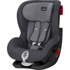 Автокресло Britax-Romer KING II Black Series Storm Grey
