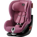Розовый, Автокресло Britax-Romer KING II Black Series Wine Rose