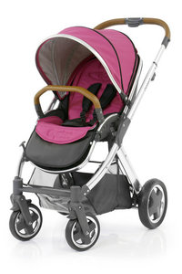 Коляска прогулочная BabyStyle Oyster 2 Wow Pink / Mirror Tan
