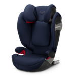 Синий, Автокресло Cybex Solution S-Fix Denim Blue