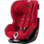 Автокресло Britax-Romer KING II LS Black Series Fire Red